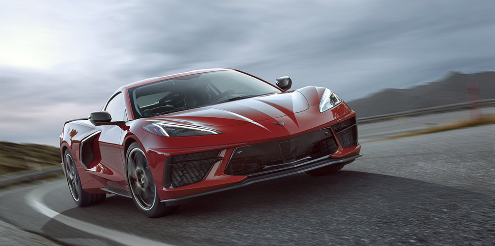 Official: Corvette C8