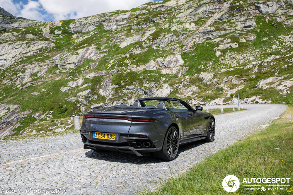 Wat is mooier dan een Aston Martin DBS Superleggera?