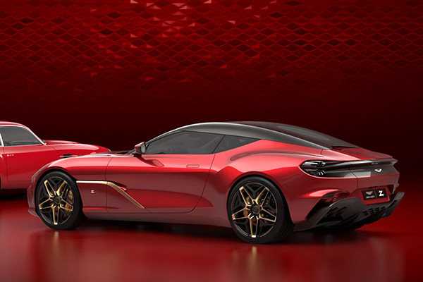 Aston Martin showt DBS GT Zagato