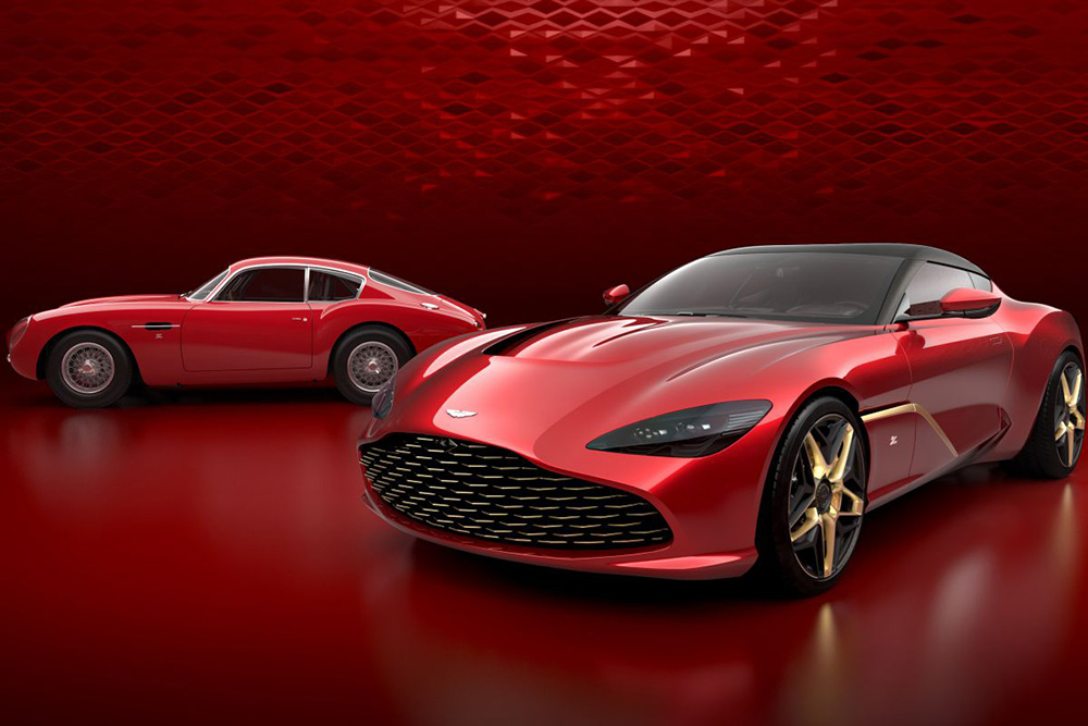 Uncompromised beauty: Aston Martin shows DBS GT Zagato