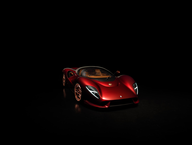 Vandaag onthuld bij Louwman Exclusive: De Tomaso P72