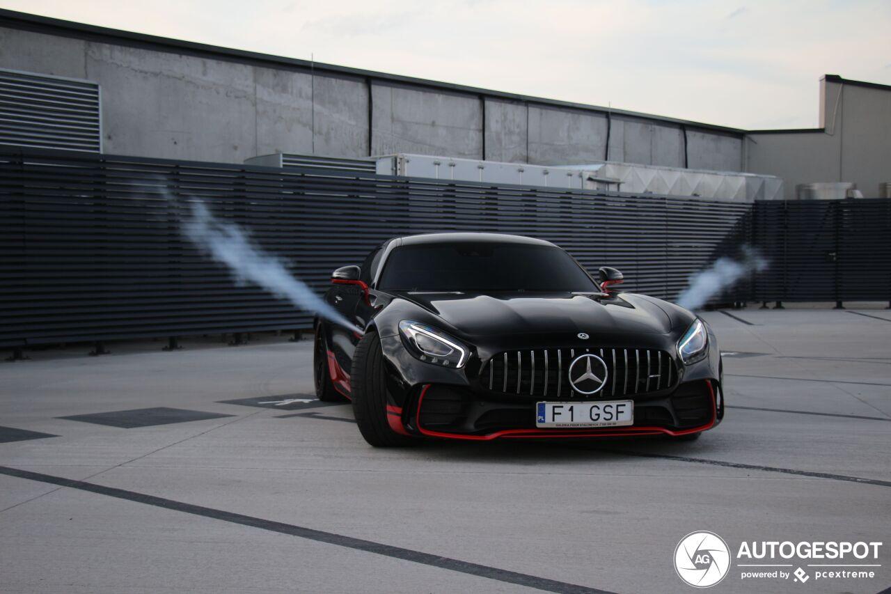 Mercedes-AMG GT R heeft een interessant foefje