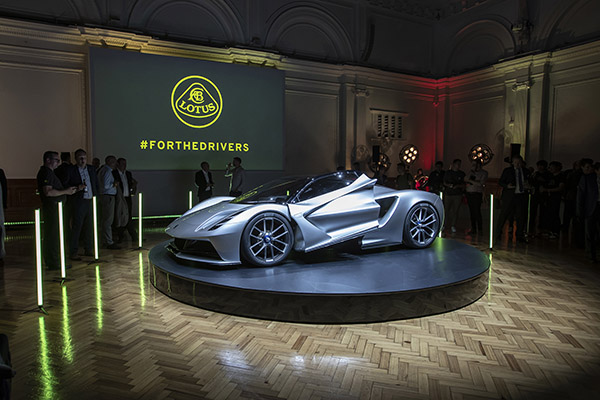 Lotus has unveiled the Evija