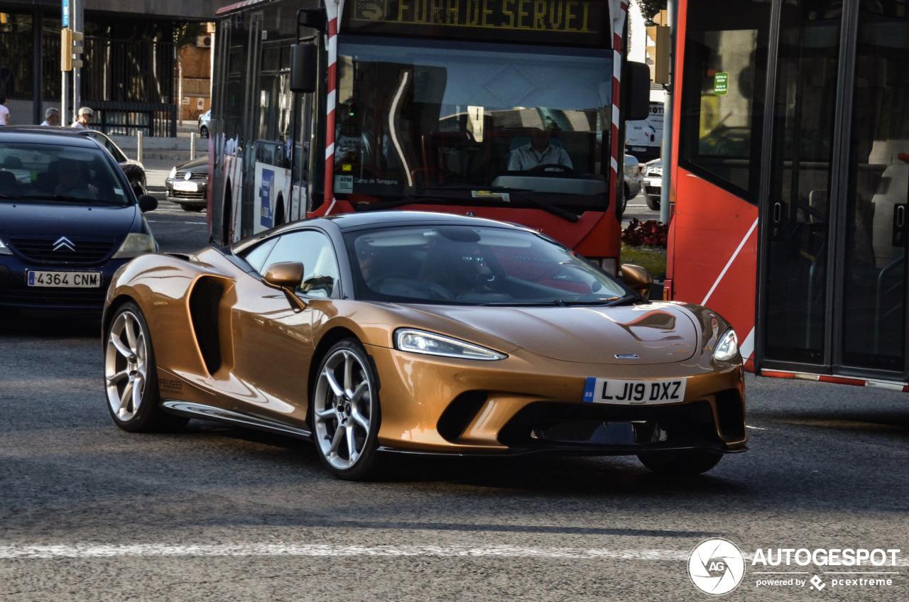 McLaren GT laat zich zien in Tarragona