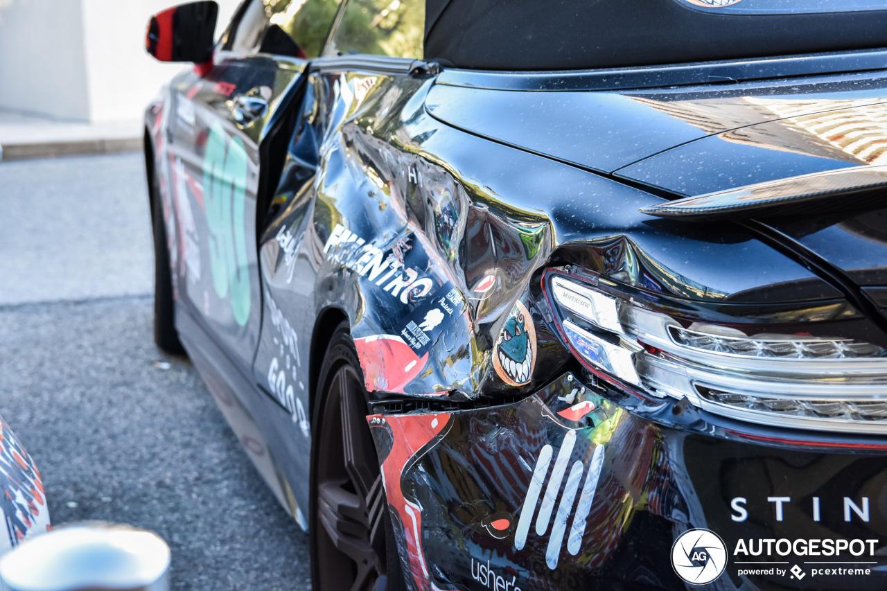 Mercedes-AMG Renntech S 63 Convertible heeft klein ongelukje gehad