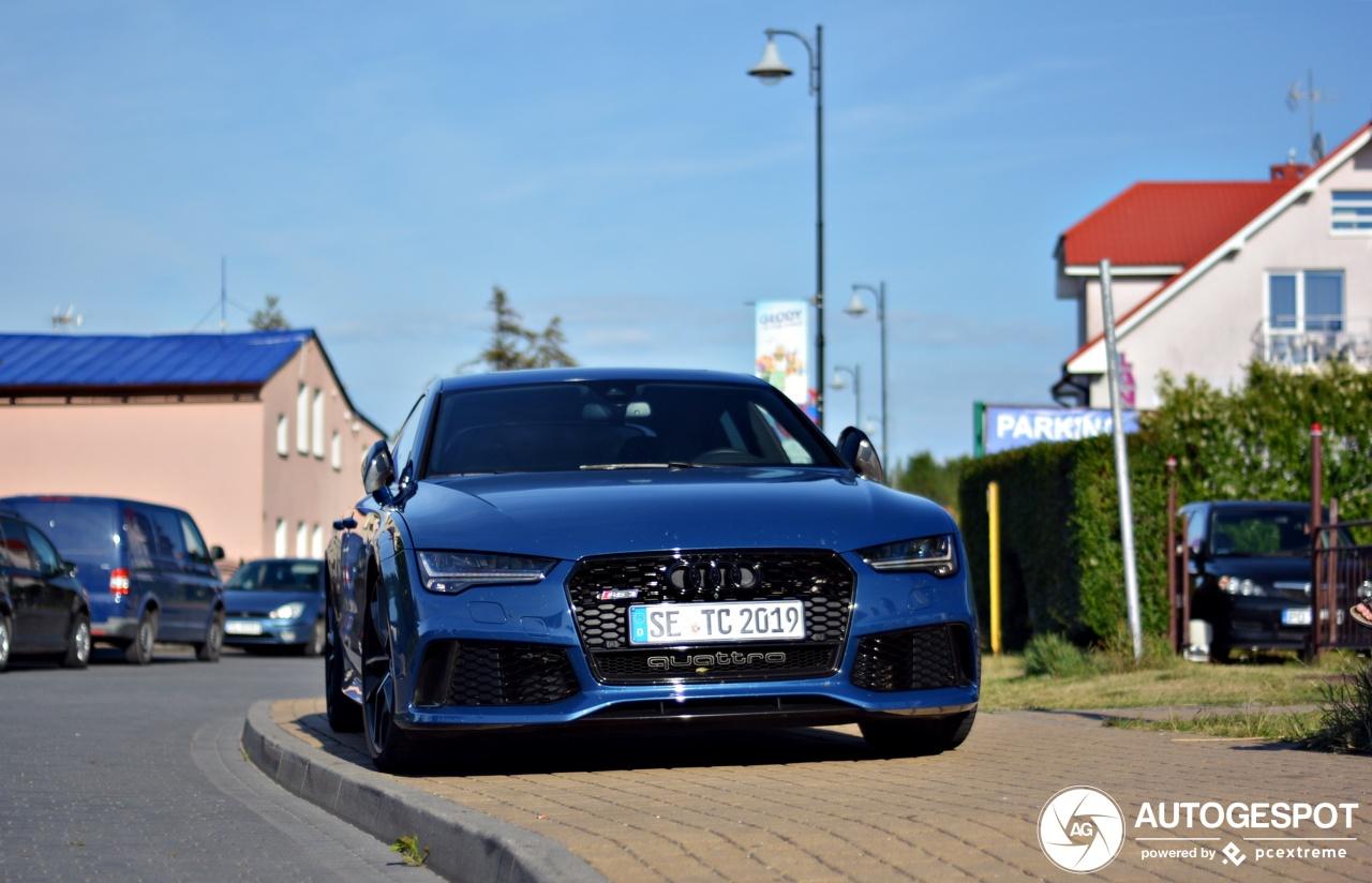Nooit echt een succes: Audi RS7