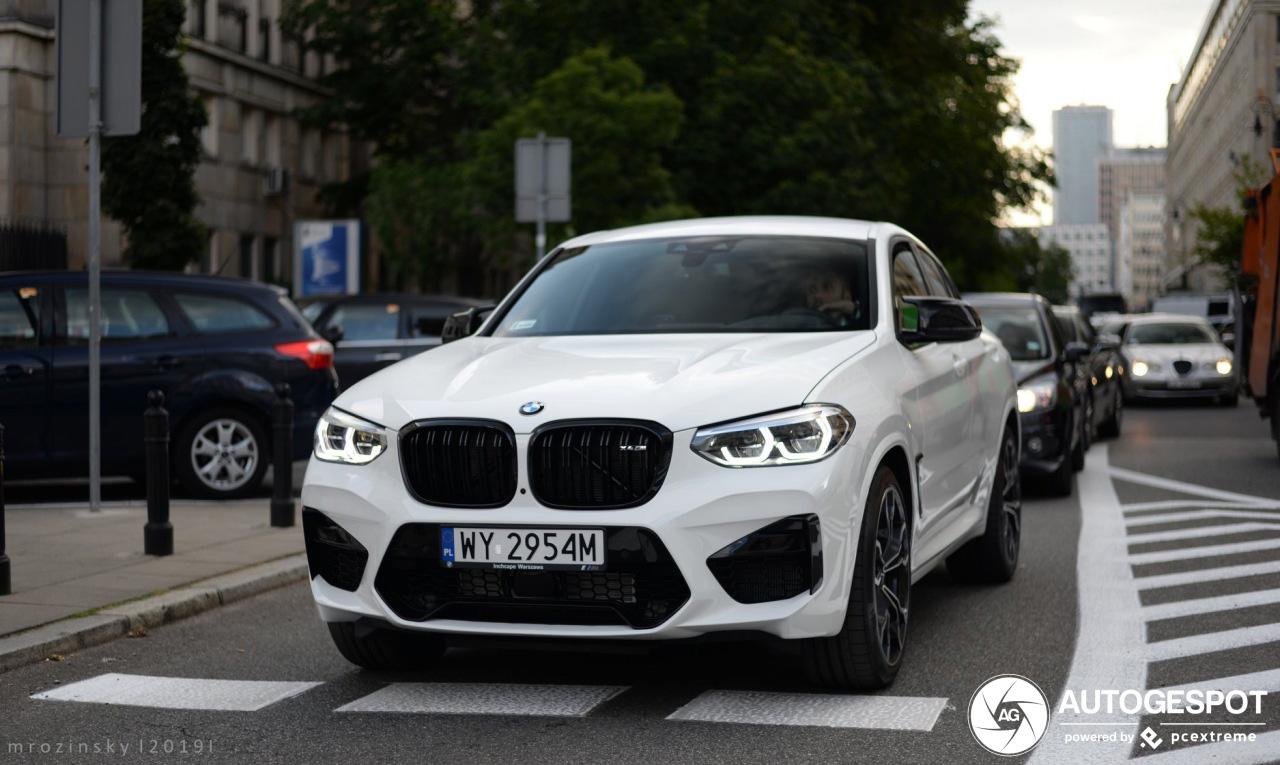 Primeur gespot: BMW X4 M Competition