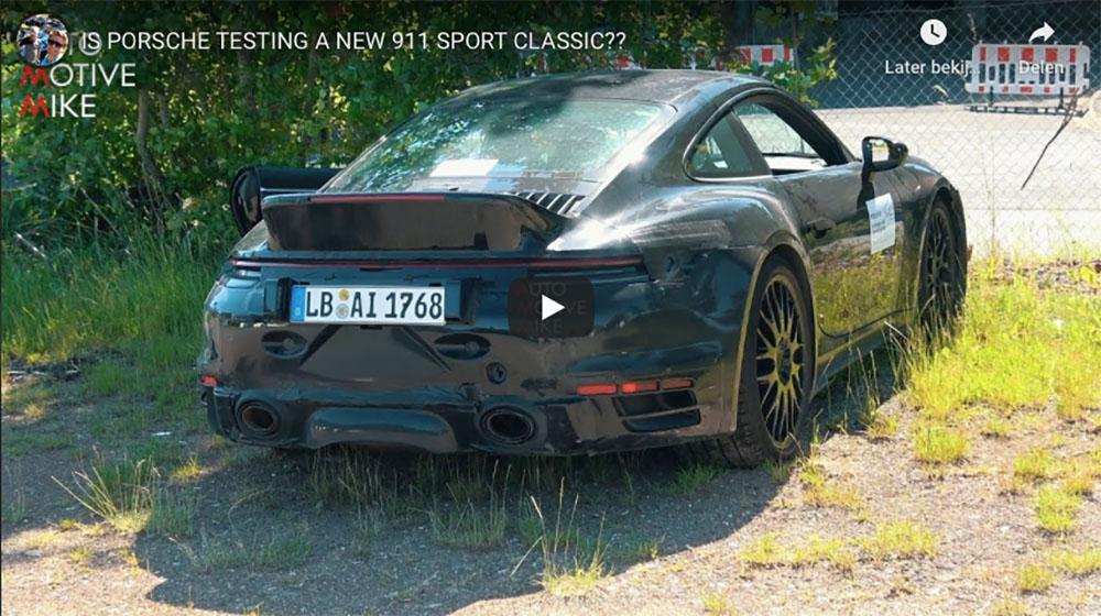 Spyvideo: wat is Porsche van plan met deze 992?