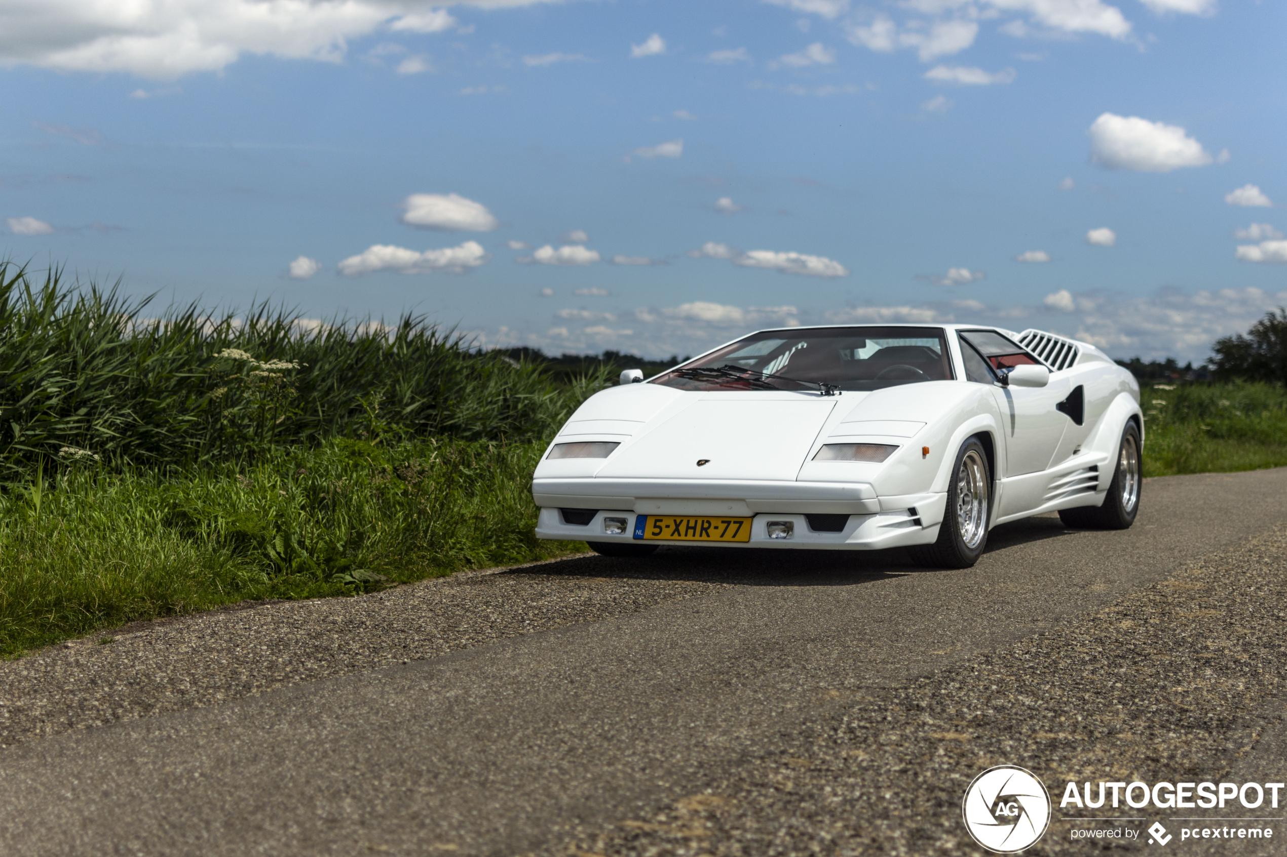 Spot van de dag: Lamborghini Countach 25th Anniversary