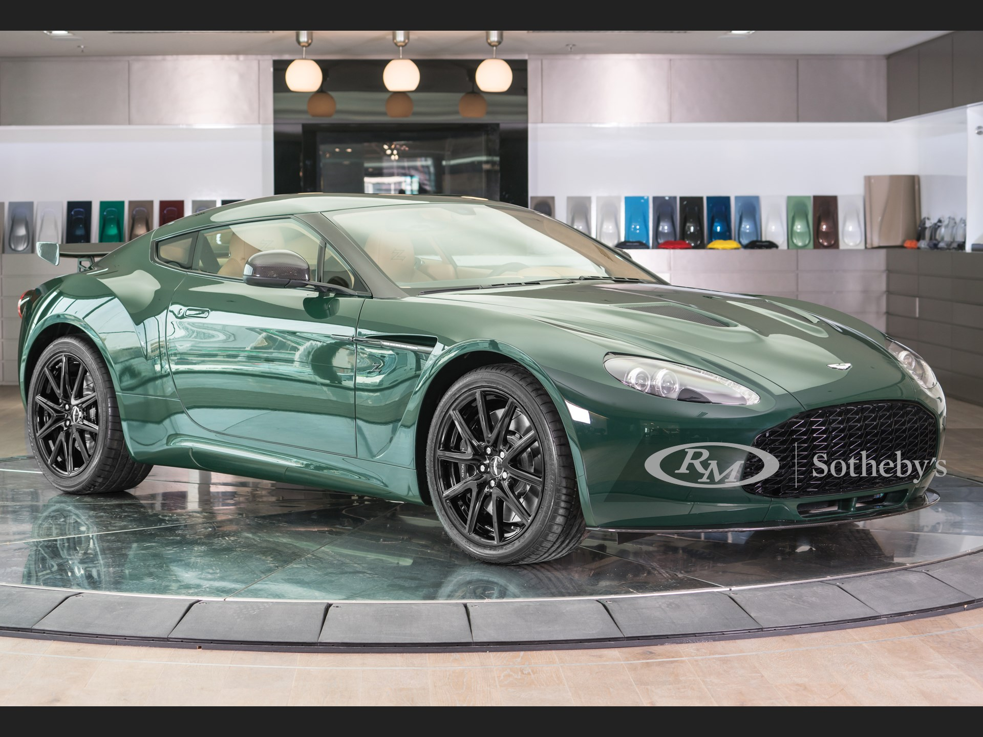 Oh so rare.. The Aston Martin V8 Zagato!