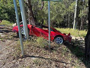 Ferrari heeft zijn handen weer vol aan deze F40