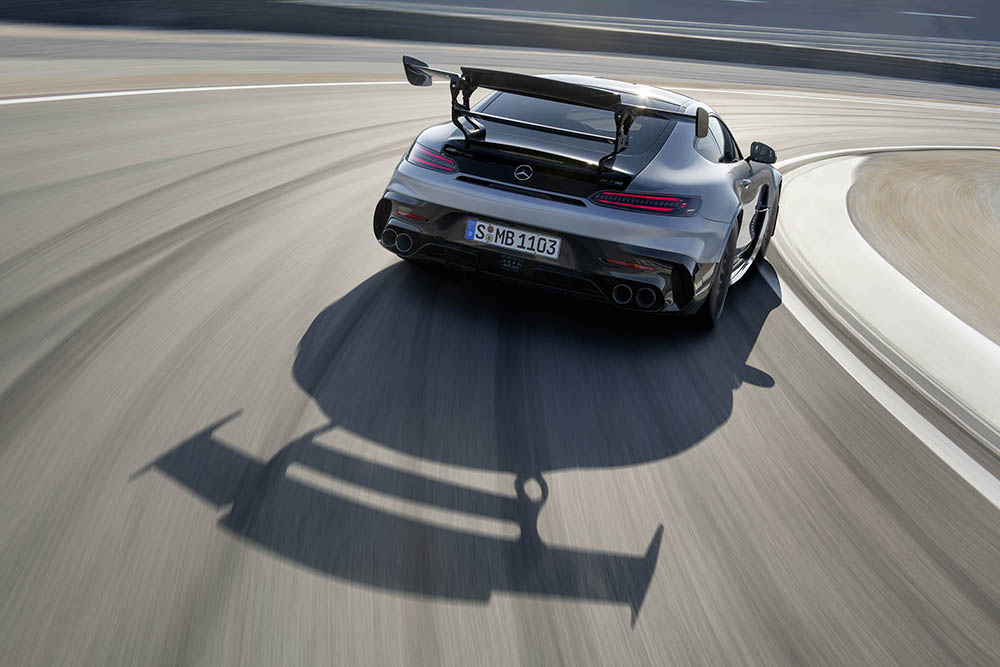 Beter krijg je niet: Mercedes-AMG GT Black Series