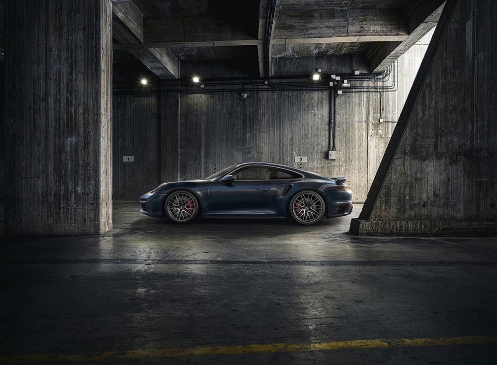 Porsche now also brings the 992 Turbo