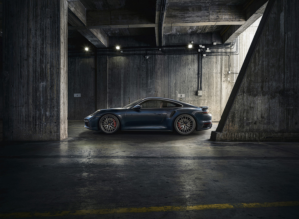 Porsche now also brings the 992 Turbo