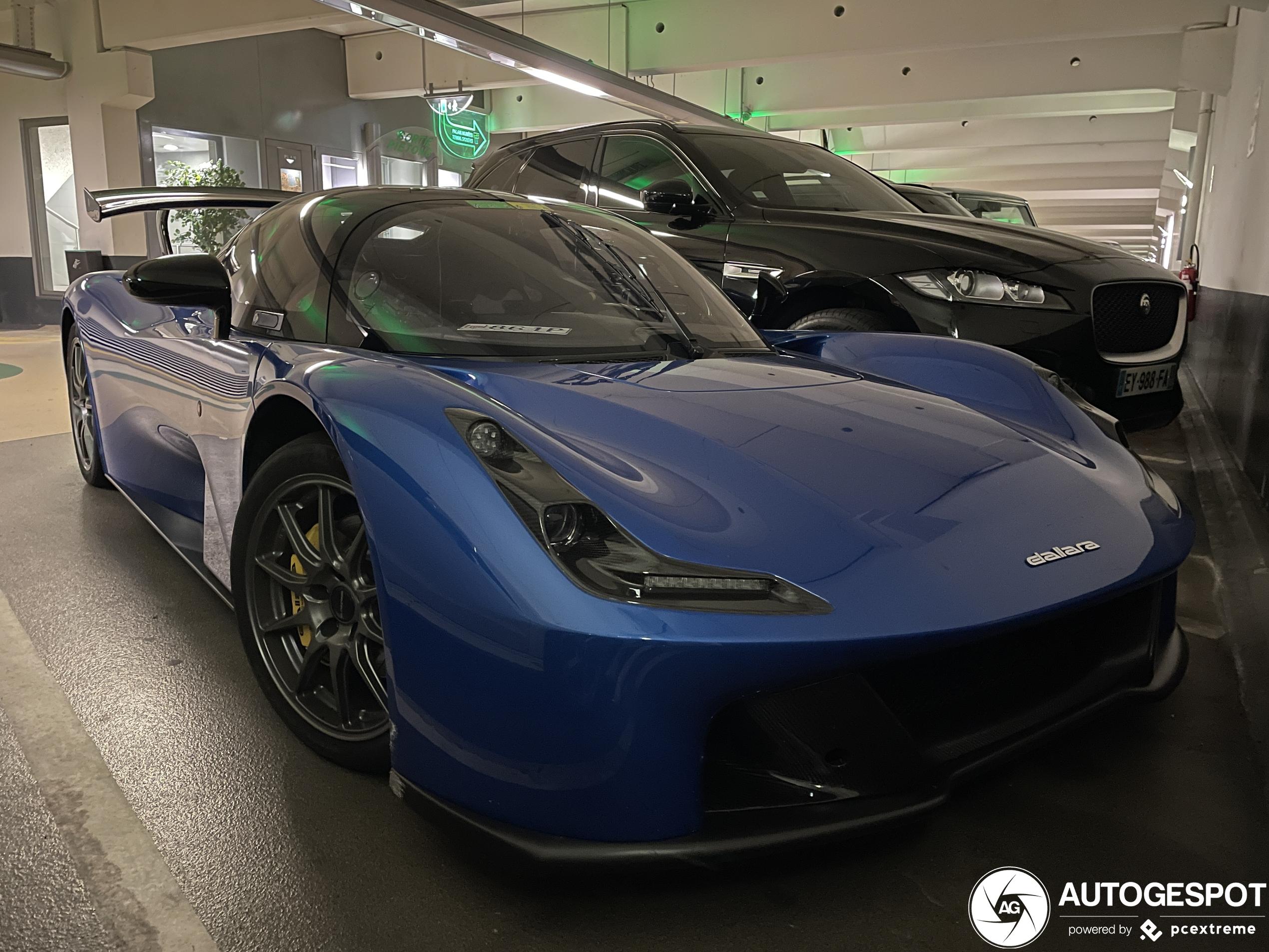 Dallara Stradale wordt over het hoofd gezien in Monaco