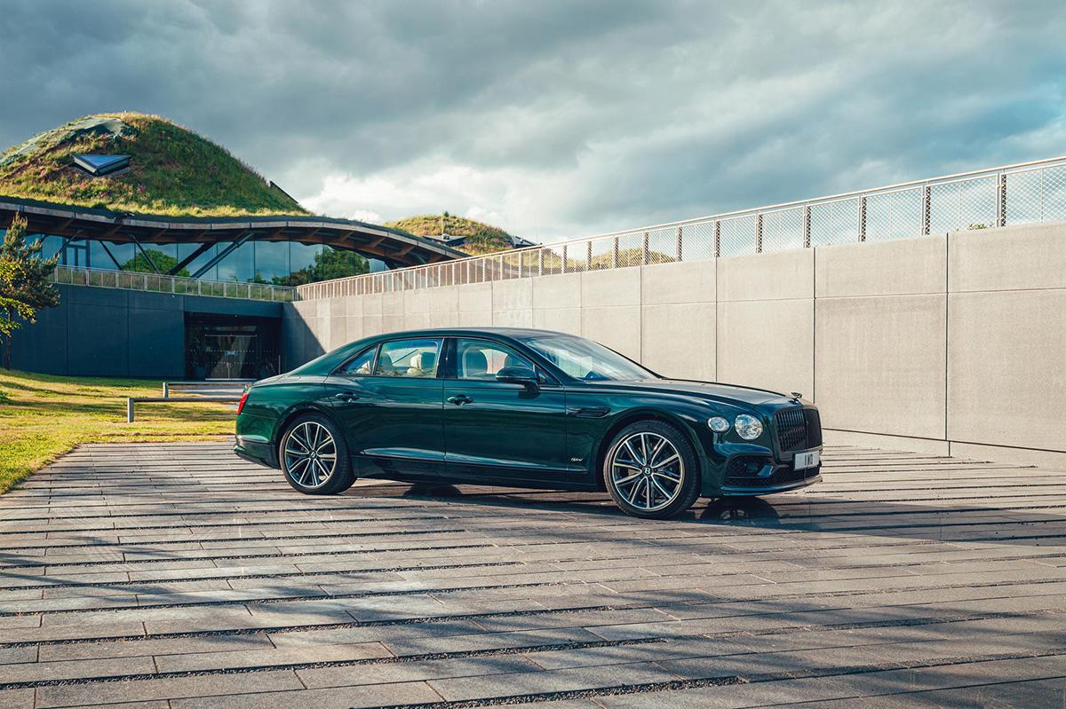 Groener dan ooit: Bentley Flying Spur Hybrid