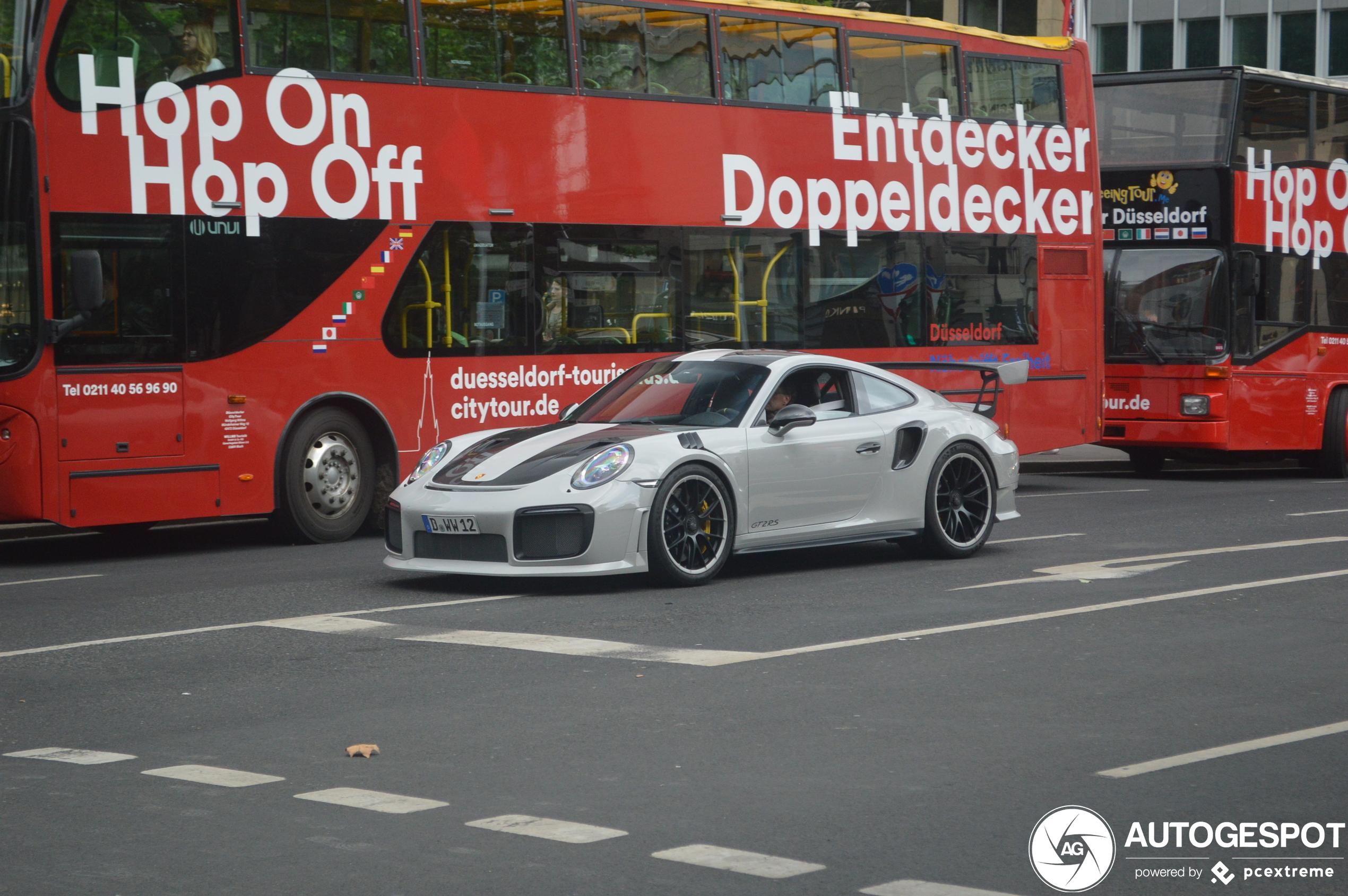 Niet elke aanpassing is een verbetering voor de Porsche GT2 RS
