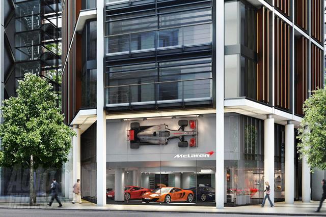 Bezoek de McLaren showroom in hartje Londen!