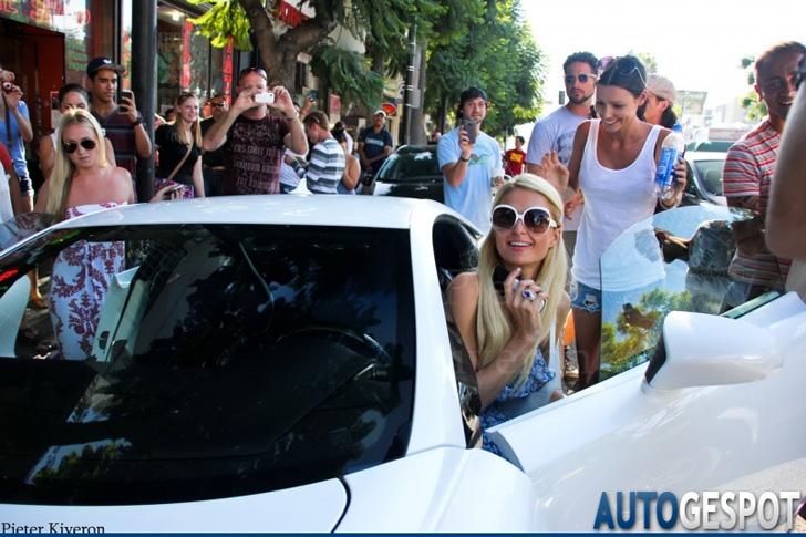 Spot van de dag: Lexus LFA van Paris Hilton