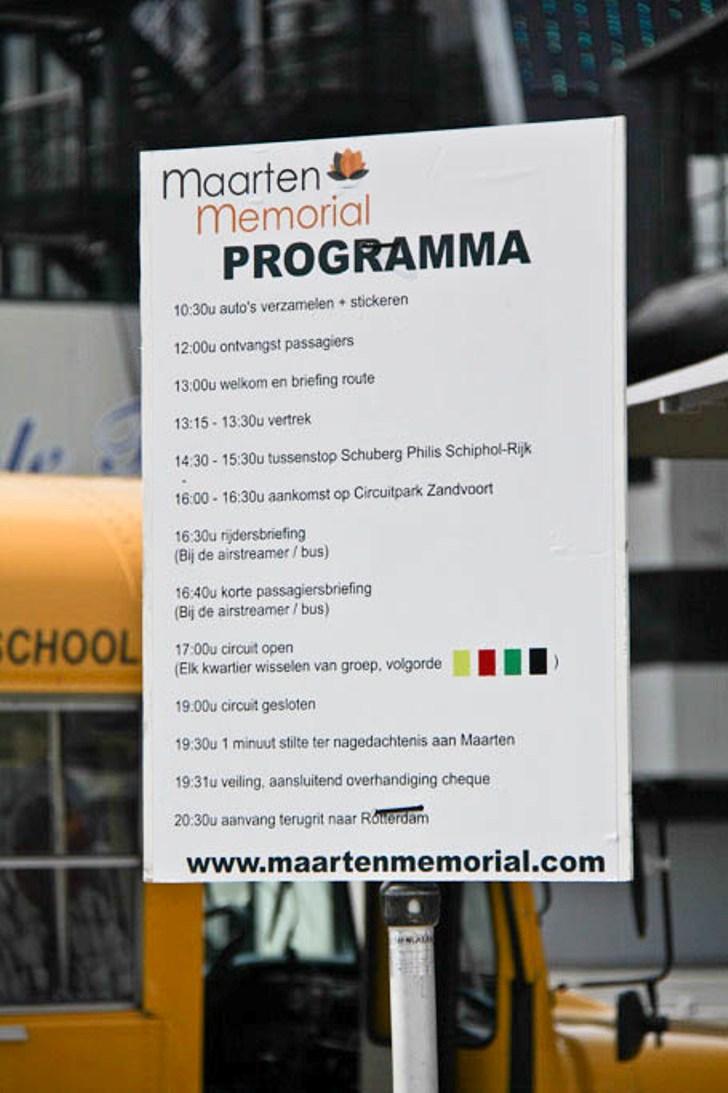 Milano MaartenMemorial 2011: de verzameling in Rotterdam