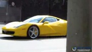 Wicked: Ferrari races through neighborhood in Brazil
