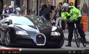 Movie: Bugatti Veyron 16.4 stopped by police