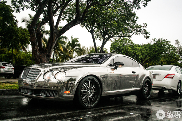 Suited For Miami Chrome Bentley Continental Gt