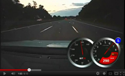 Movie: Nissan GT-R's speeding on the German Autobahn