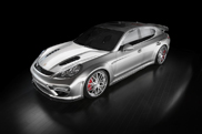 Tuner Gintani uses a lot of carbon fiber on their Porsche Panamera
