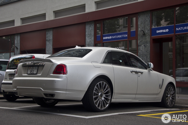 Mission Accomplished: derde Mansory White Ghost Limited gespot!