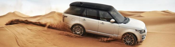 Completely new: the Land Rover Range Rover