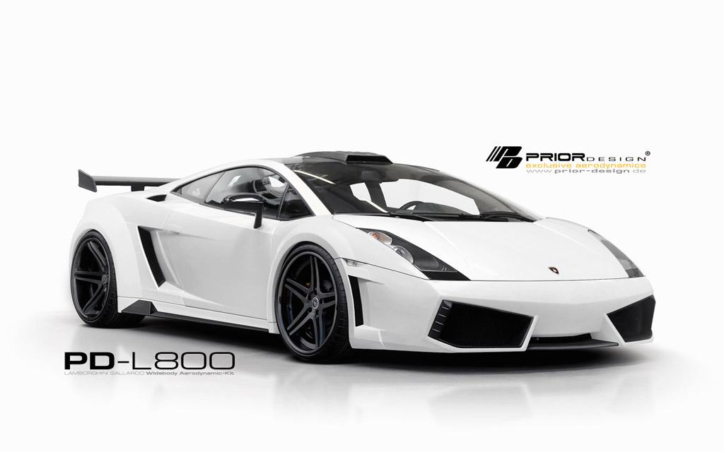 Prior Design R 233 Alise La Lamborghini Gallardo Pd L800 Widebody