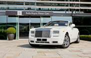 Rolls-Royce closes off the Olympics with three unique Phantom DHC's