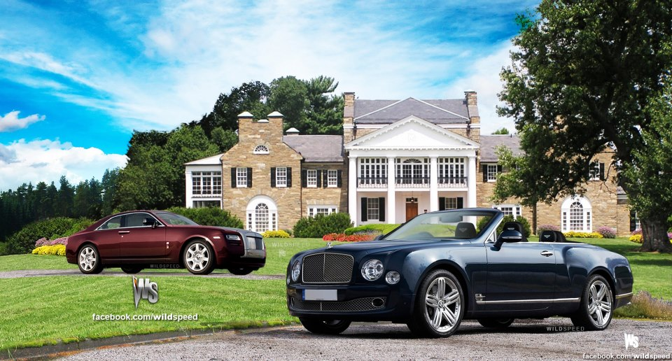 Wildspeed Draws The Rolls Royce Ghost Coup 233 And Bentley
