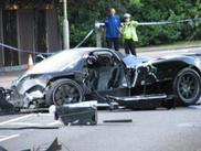 Fatal crash with a Pagani Zonda