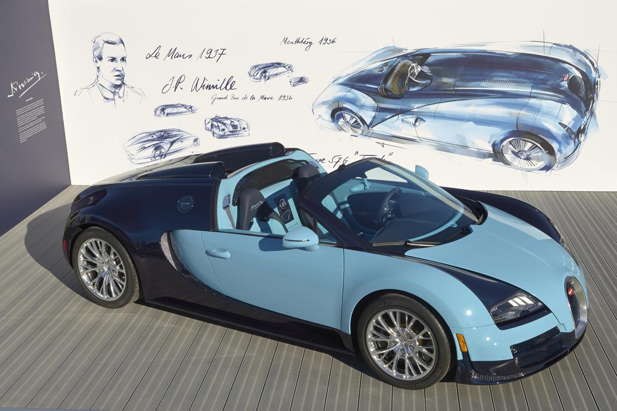 bugatti veyron 16 4 grand sport vitesse jean pierre wimille edition. Black Bedroom Furniture Sets. Home Design Ideas