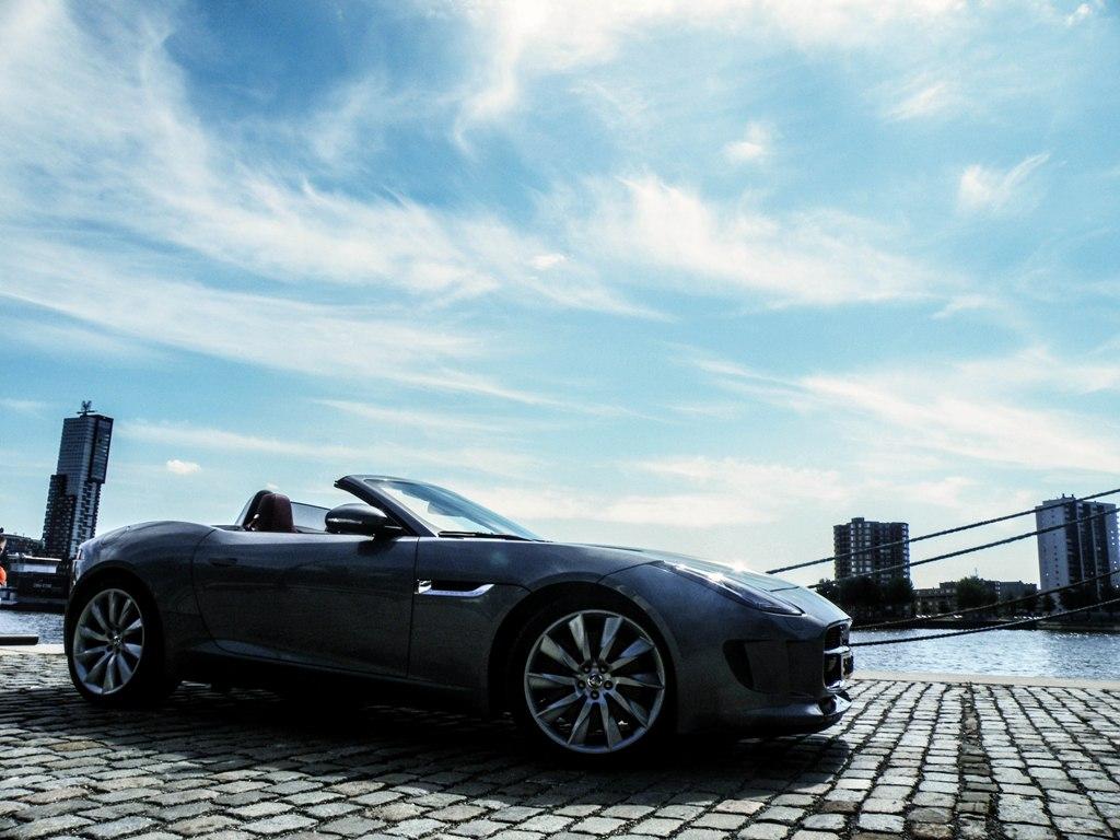 Fotoshoot Jaguar F Type S V6