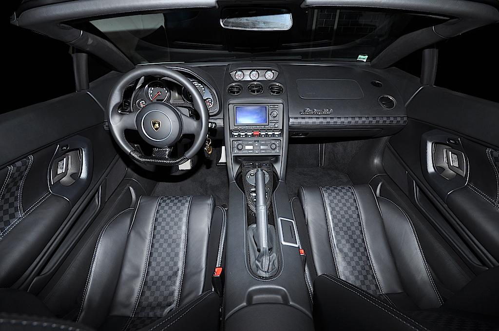 Gallardo Lp560 4 Spyder Gets A Unique Louis Vuitton Interior