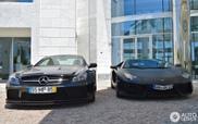 À escolha - Aventador ou SL 65 AMG Black Series