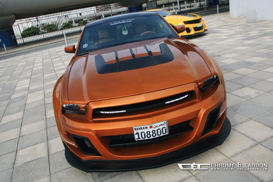Ford Mustang Gt Met Tornado Bodykit Geschikt Voor Film Transformers