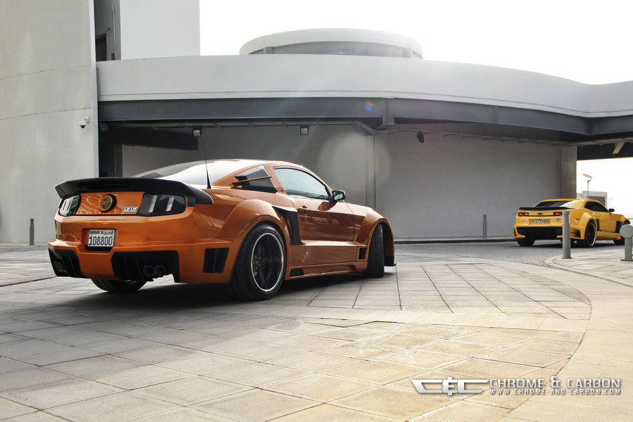 Ford Mustang Gt With Tornado Bodykit Is Suitable For The