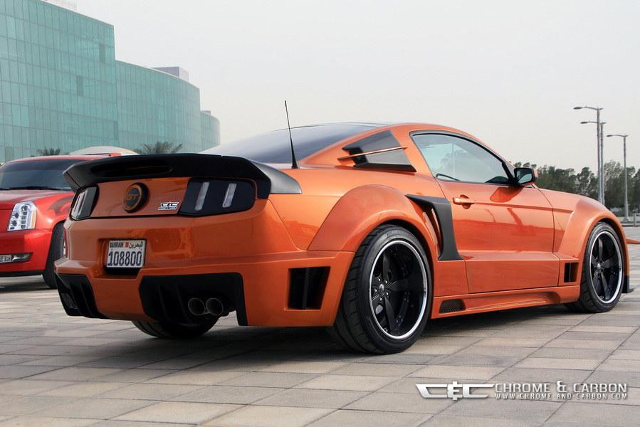 Chevrolet Camaro Bodykit >> Ford Mustang GT met Tornado-bodykit geschikt voor film Transformers