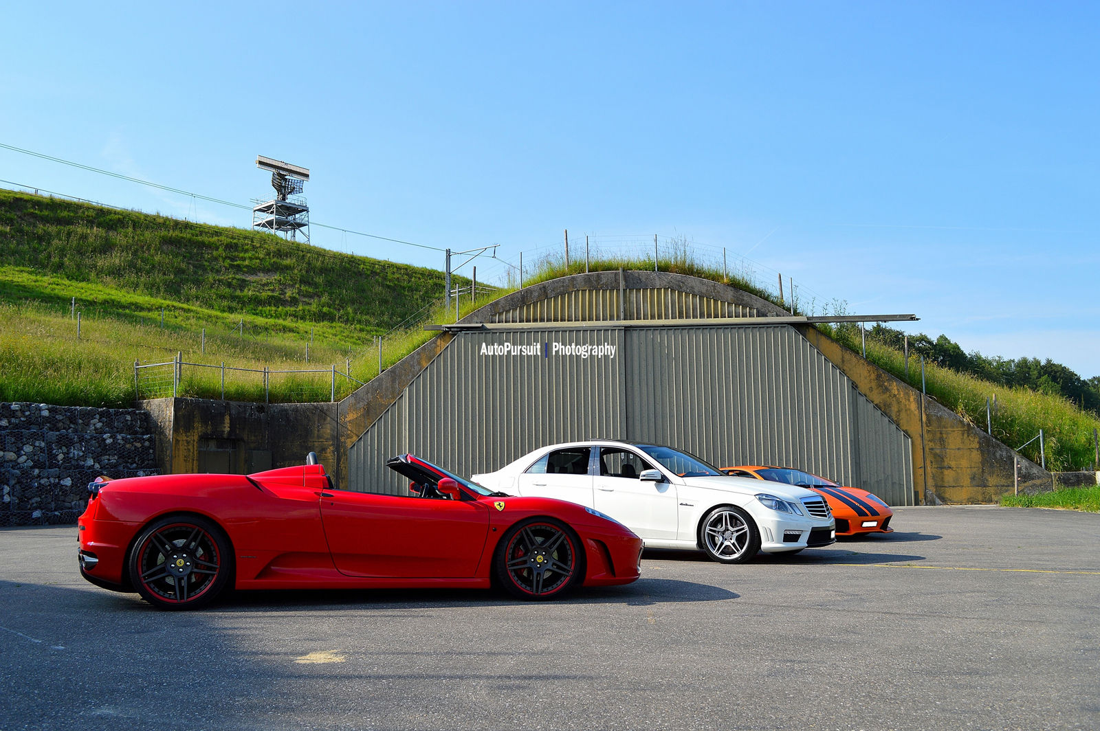 Photoshoot: heading out with three brutal cars