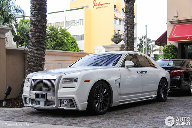 Rolls Royce Loses Its Elegance With Wald International S