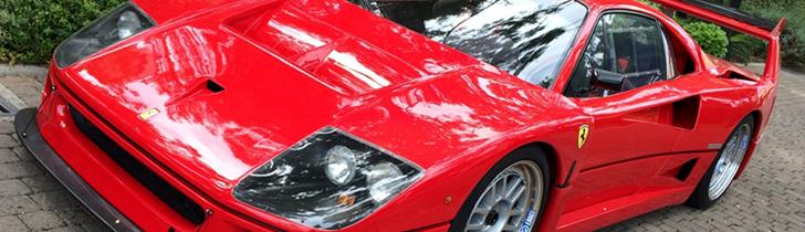 Top Spot: Raríssimo Ferrari F40 LM Michelotto