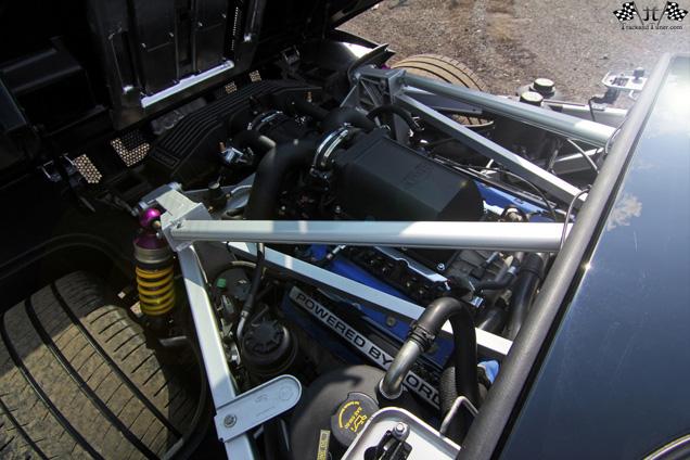 Fotoshoot met 1113 pk sterke Ford GT