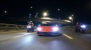 La Lamborghini Huracán LP610-4 brille à Moscow