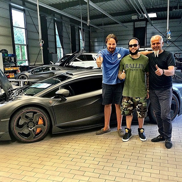 Rapper Timati Has A New Toy: A Mansory Carbonado