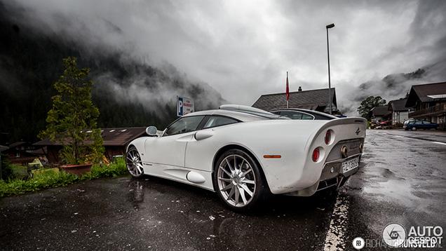 Verrassing in de Zwitserse Alpen: Spyker C8 Aileron