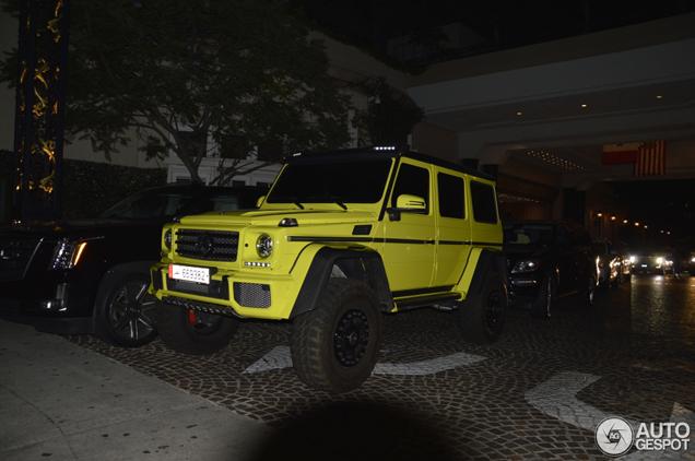 Verdwaald: Mercedes-Benz G500 4X4²